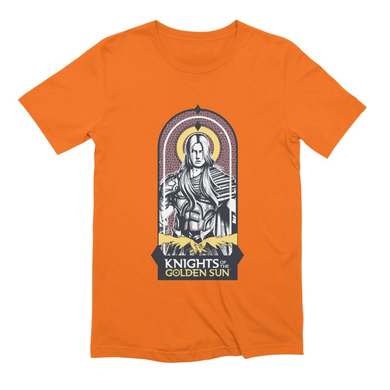 Knights of the Golden Sun: Archangel Michael Men's Extra Soft T-Shirt by Mad Cave Studios's Artist Shop