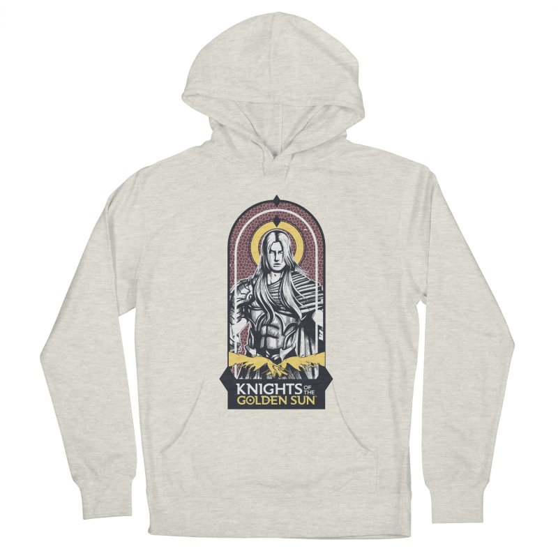 Knights of the Golden Sun: Archangel Michael Women's French Terry Pullover Hoody by Mad Cave Studios's Artist Shop