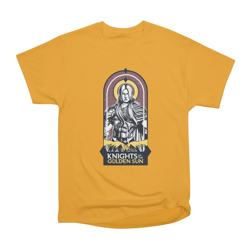 Knights of the Golden Sun: Archangel Michael Women's Heavyweight Unisex T-Shirt by Mad Cave Studios's Artist Shop