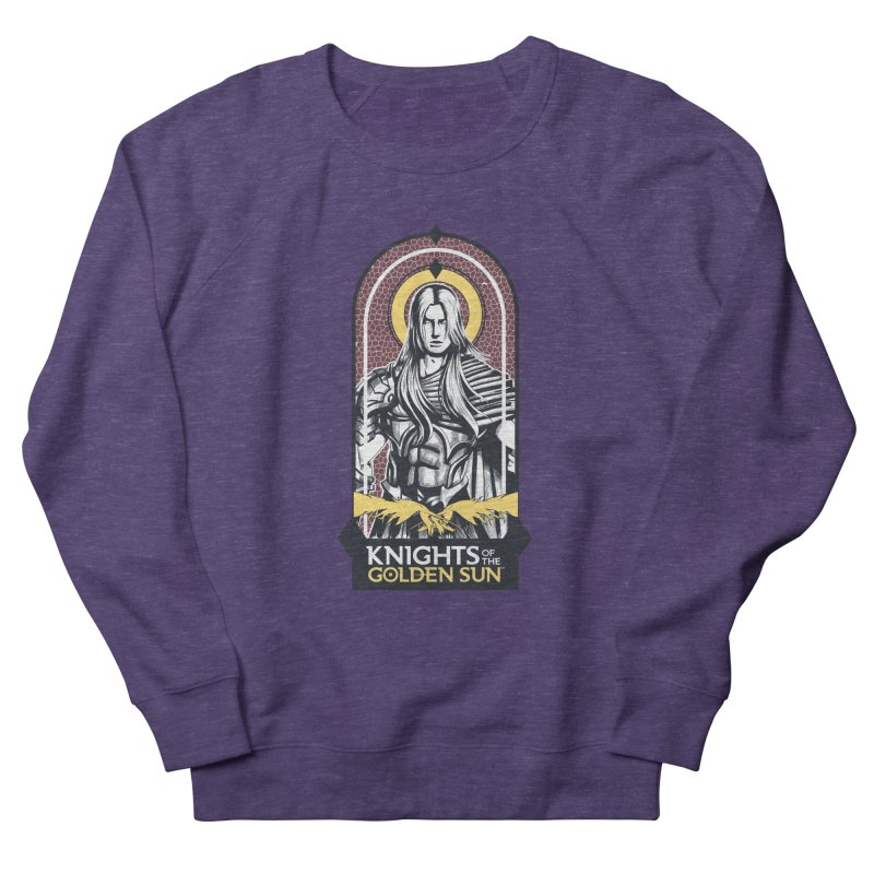 Knights of the Golden Sun: Archangel Michael Women's French Terry Sweatshirt by Mad Cave Studios's Artist Shop