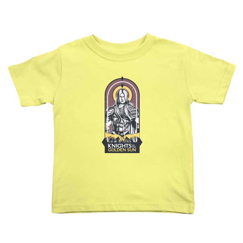 Knights of the Golden Sun: Archangel Michael Kids Toddler T-Shirt by Mad Cave Studios's Artist Shop