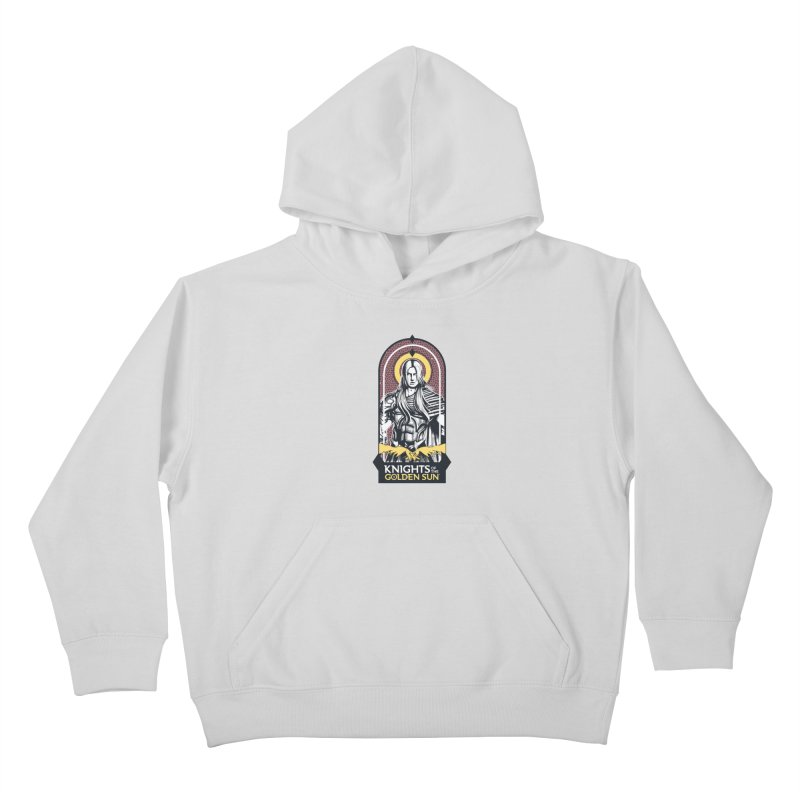 Knights of the Golden Sun: Archangel Michael Kids Pullover Hoody by Mad Cave Studios's Artist Shop