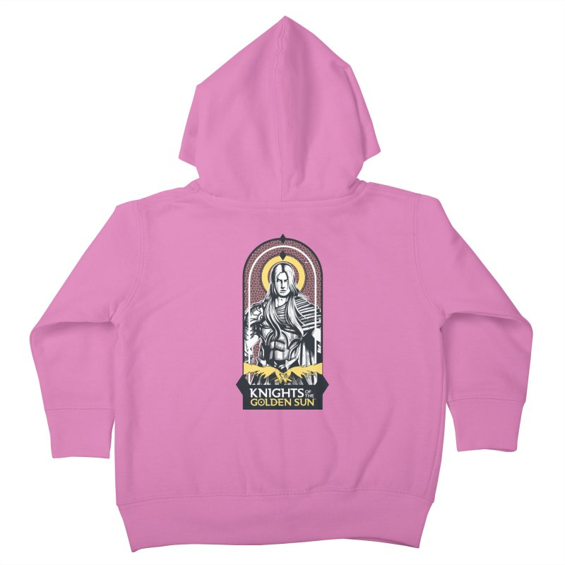 Knights of the Golden Sun: Archangel Michael Kids Toddler Zip-Up Hoody by Mad Cave Studios's Artist Shop