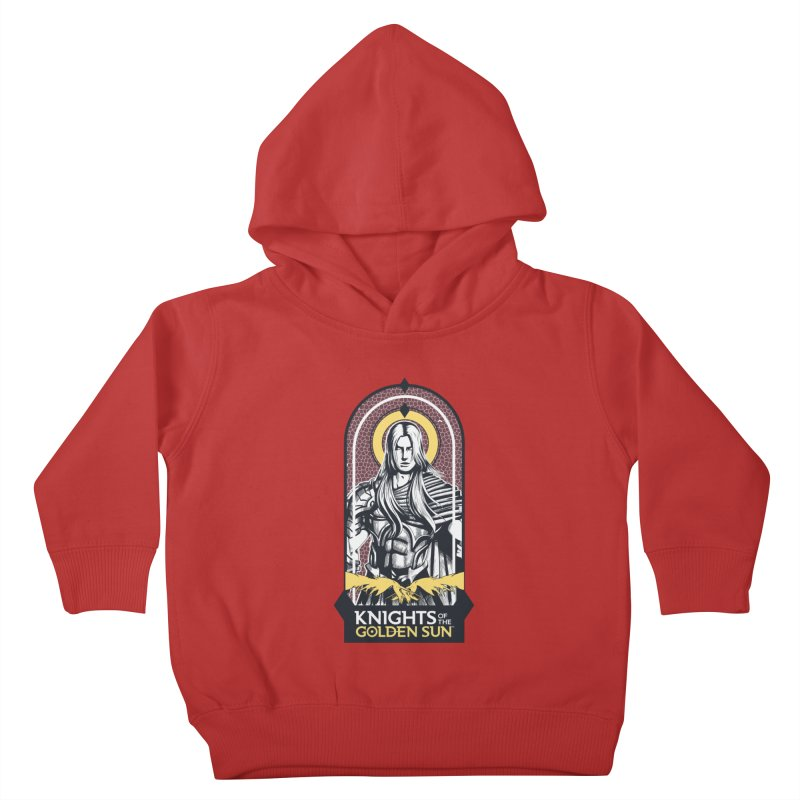 Knights of the Golden Sun: Archangel Michael Kids Toddler Pullover Hoody by Mad Cave Studios's Artist Shop
