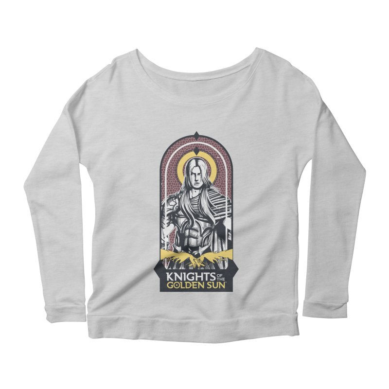 Knights of the Golden Sun: Archangel Michael Women's Scoop Neck Longsleeve T-Shirt by Mad Cave Studios's Artist Shop