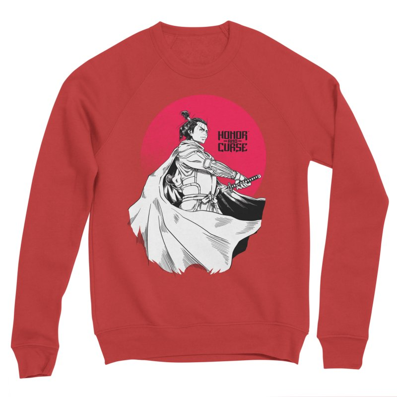 Honor and Curse: Genshi Sakagura Women's Sponge Fleece Sweatshirt by Mad Cave Studios's Artist Shop