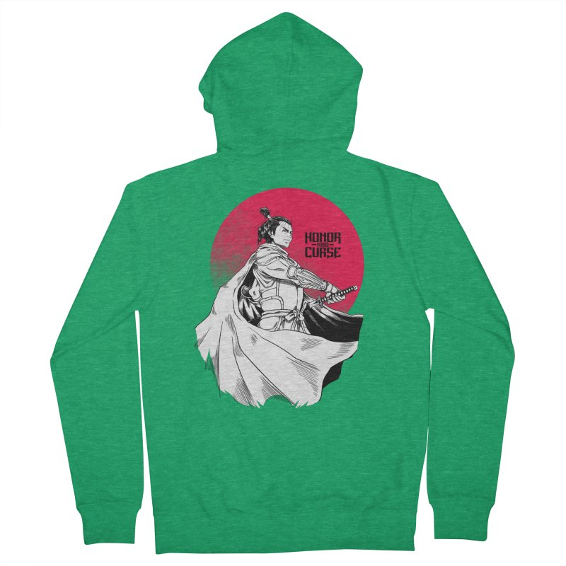 Honor and Curse: Genshi Sakagura Women's Zip-Up Hoody by Mad Cave Studios's Artist Shop