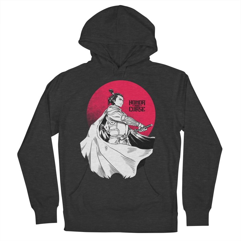 Honor and Curse: Genshi Sakagura Women's French Terry Pullover Hoody by Mad Cave Studios's Artist Shop