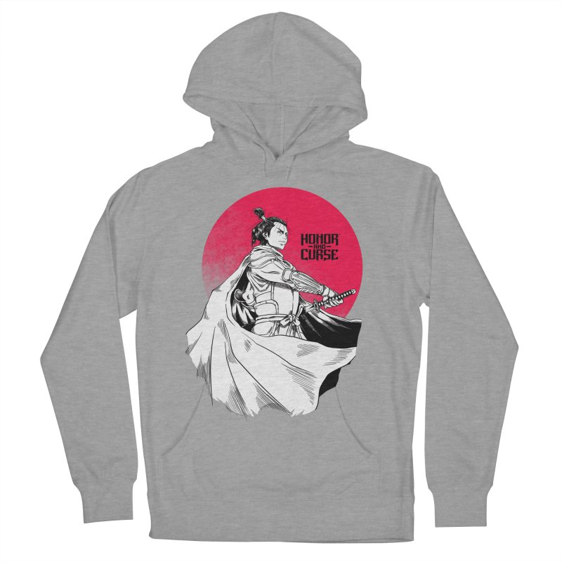 Honor and Curse: Genshi Sakagura Men's French Terry Pullover Hoody by Mad Cave Studios's Artist Shop