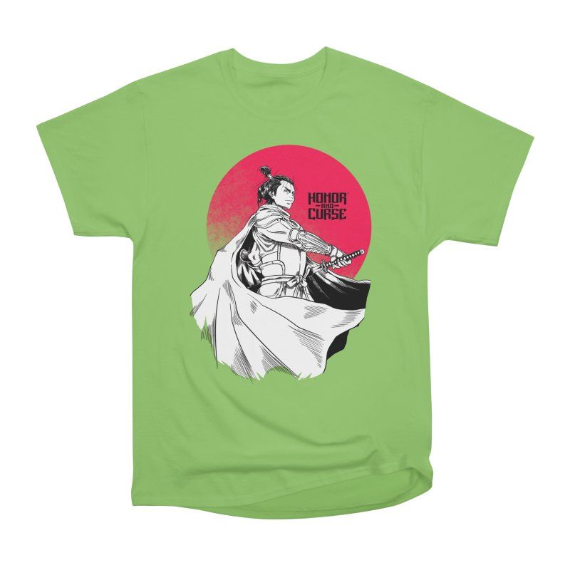 Honor and Curse: Genshi Sakagura Men's Heavyweight T-Shirt by Mad Cave Studios's Artist Shop