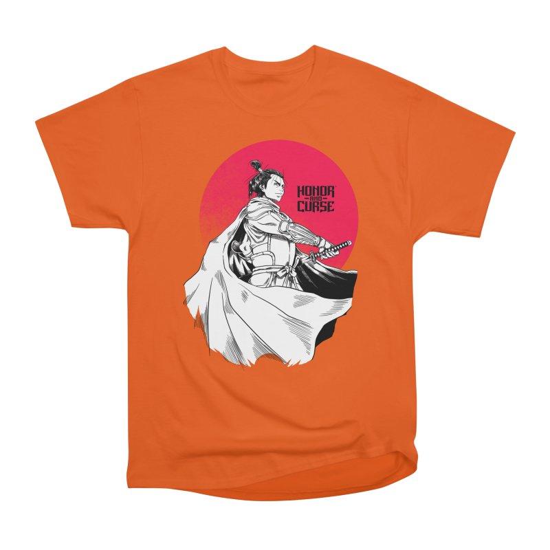 Honor and Curse: Genshi Sakagura Women's Heavyweight Unisex T-Shirt by Mad Cave Studios's Artist Shop