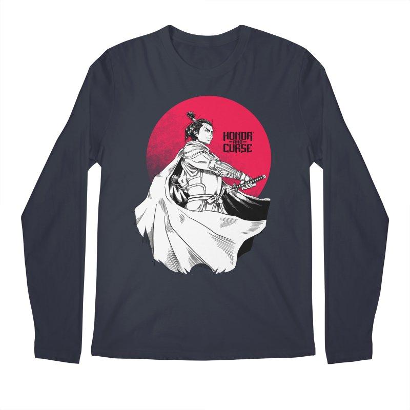 Honor and Curse: Genshi Sakagura Men's Regular Longsleeve T-Shirt by Mad Cave Studios's Artist Shop