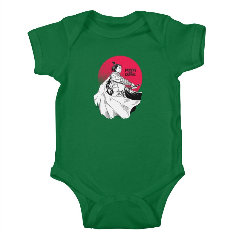 Honor and Curse: Genshi Sakagura Kids Baby Bodysuit by Mad Cave Studios's Artist Shop