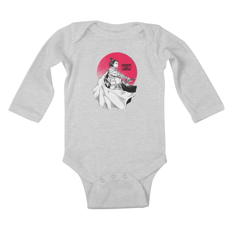 Honor and Curse: Genshi Sakagura Kids Baby Longsleeve Bodysuit by Mad Cave Studios's Artist Shop