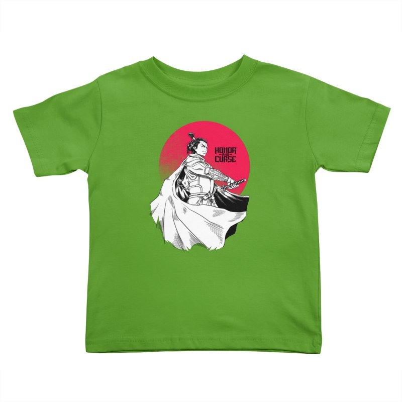 Honor and Curse: Genshi Sakagura Kids Toddler T-Shirt by Mad Cave Studios's Artist Shop