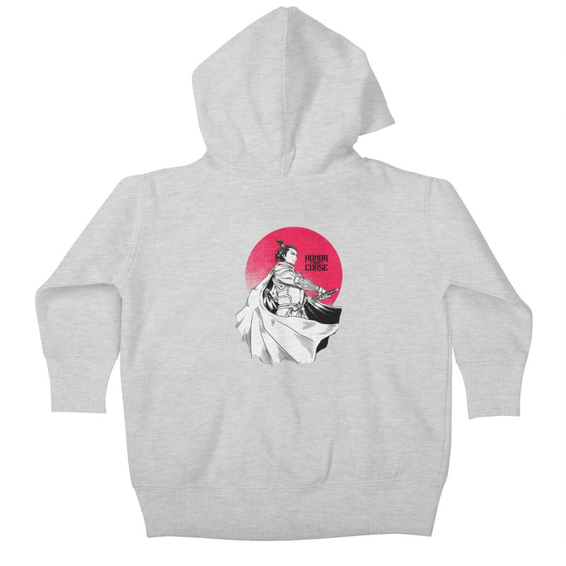 Honor and Curse: Genshi Sakagura Kids Baby Zip-Up Hoody by Mad Cave Studios's Artist Shop
