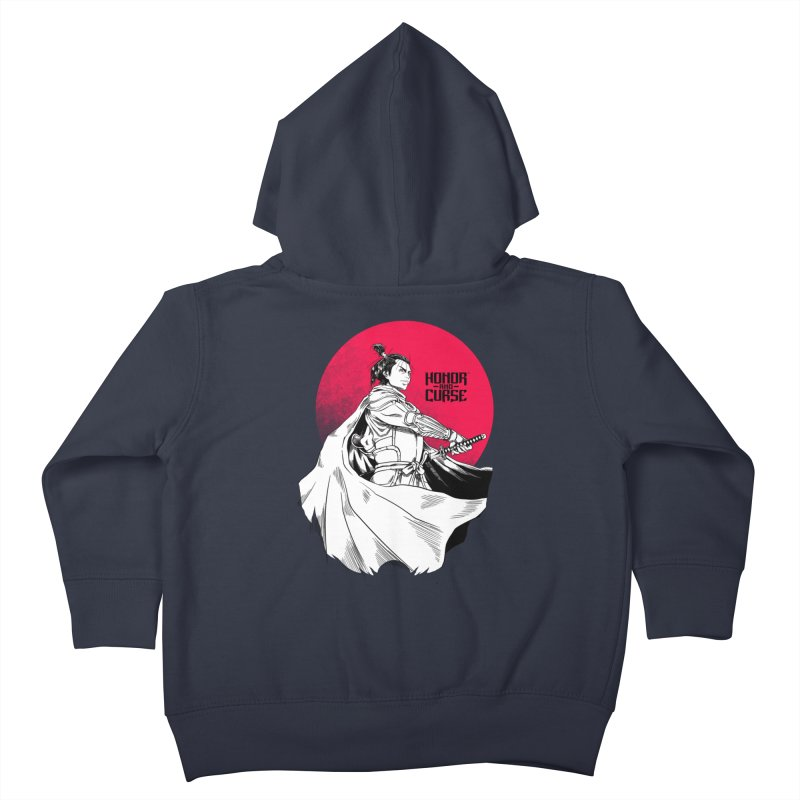 Honor and Curse: Genshi Sakagura Kids Toddler Zip-Up Hoody by Mad Cave Studios's Artist Shop