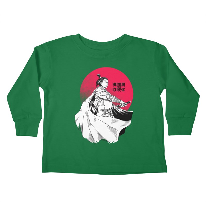 Honor and Curse: Genshi Sakagura Kids Toddler Longsleeve T-Shirt by Mad Cave Studios's Artist Shop