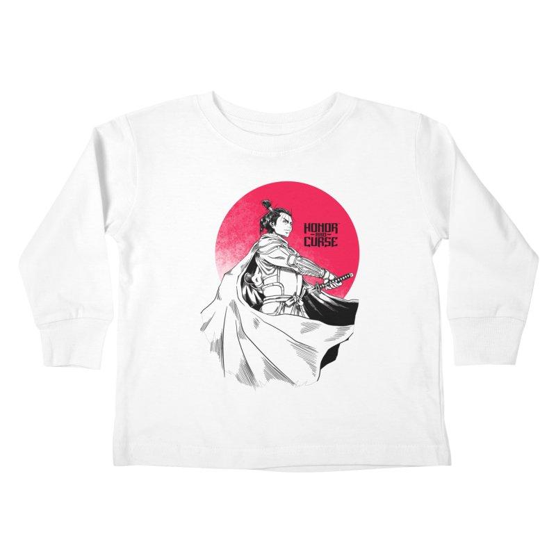 Honor and Curse: Genshi Sakagura Kids Toddler Longsleeve T-Shirt by Mad Cave Studios's Artist Shop