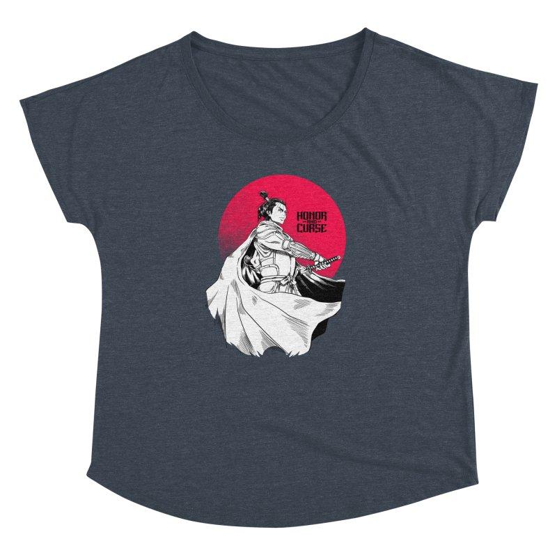 Honor and Curse: Genshi Sakagura Women's Dolman Scoop Neck by Mad Cave Studios's Artist Shop