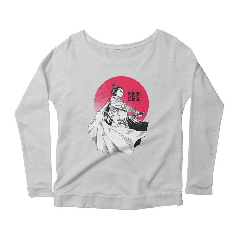 Honor and Curse: Genshi Sakagura Women's Scoop Neck Longsleeve T-Shirt by Mad Cave Studios's Artist Shop