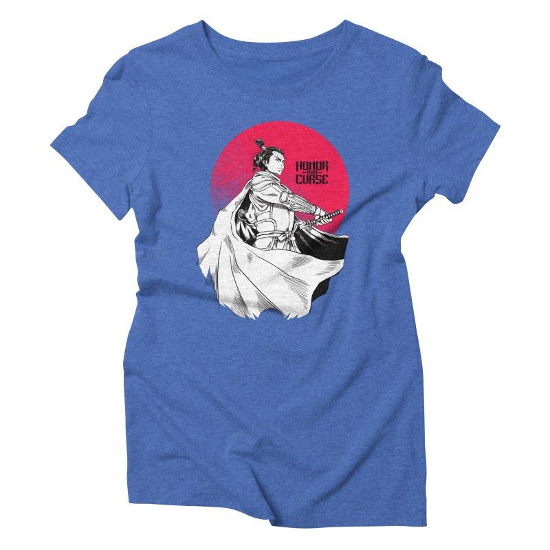 Honor and Curse: Genshi Sakagura Women's Triblend T-Shirt by Mad Cave Studios's Artist Shop