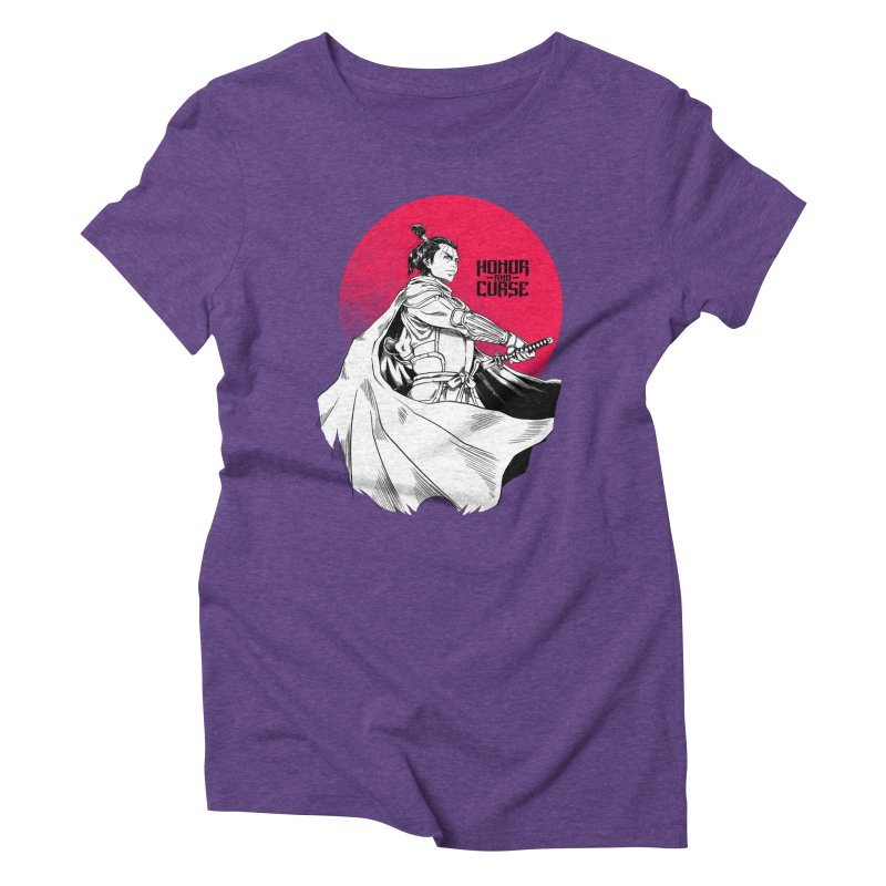 Honor and Curse: Genshi Sakagura Women's Triblend T-Shirt by Mad Cave Studios's Artist Shop