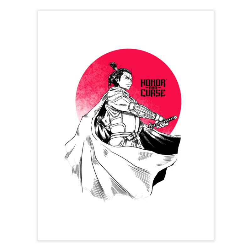 Honor and Curse: Genshi Sakagura Home Fine Art Print by Mad Cave Studios's Artist Shop