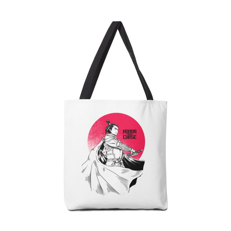 Honor and Curse: Genshi Sakagura Accessories Tote Bag Bag by Mad Cave Studios's Artist Shop