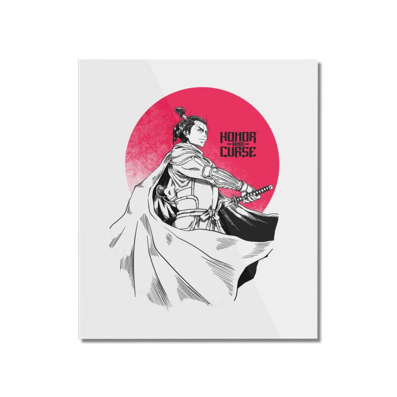 Honor and Curse: Genshi Sakagura Home Mounted Acrylic Print by Mad Cave Studios's Artist Shop