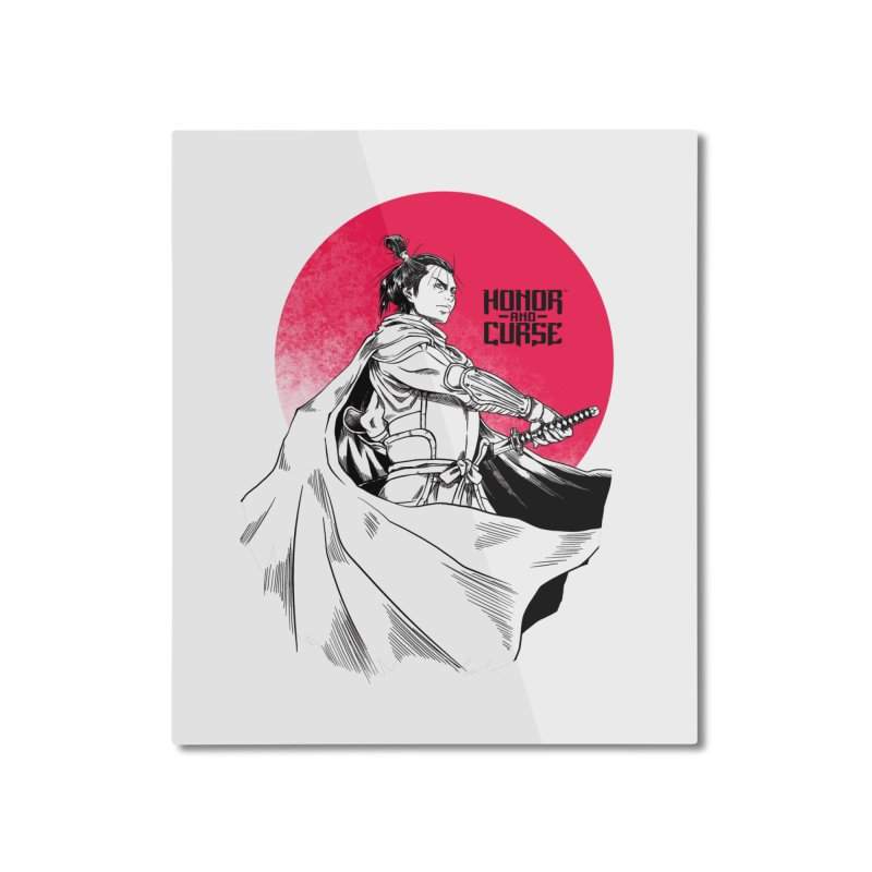 Honor and Curse: Genshi Sakagura Home Mounted Aluminum Print by Mad Cave Studios's Artist Shop
