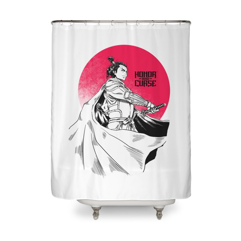 Honor and Curse: Genshi Sakagura Home Shower Curtain by Mad Cave Studios's Artist Shop