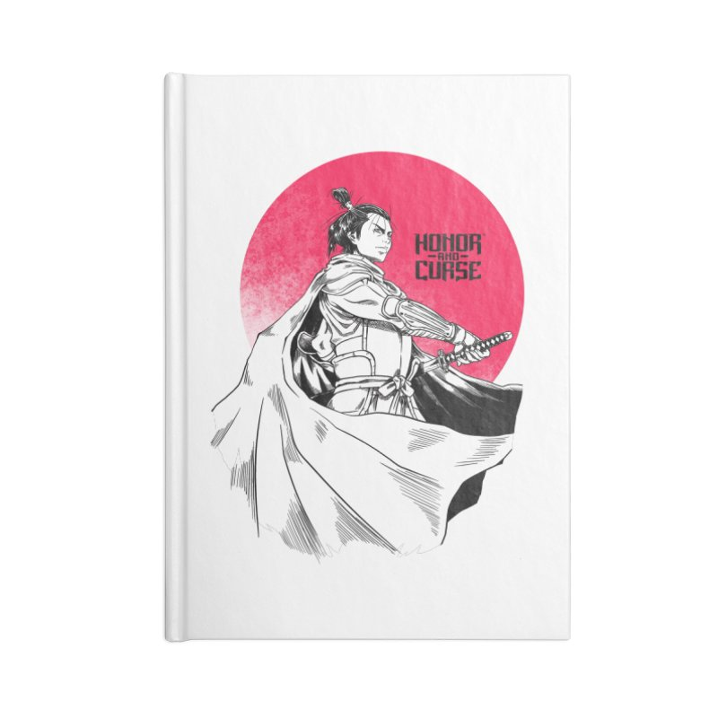 Honor and Curse: Genshi Sakagura Accessories Lined Journal Notebook by Mad Cave Studios's Artist Shop