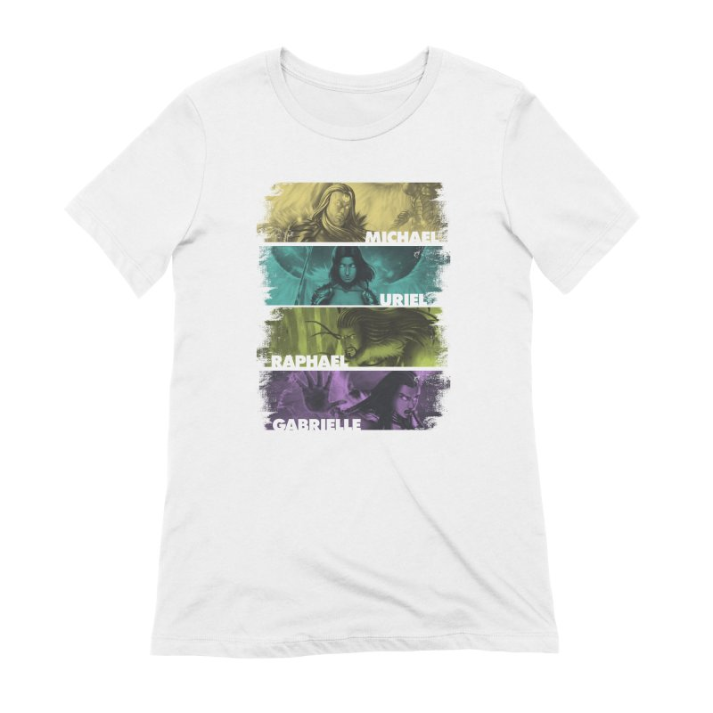 Knights of the Golden Sun: Archangels Women's Extra Soft T-Shirt by Mad Cave Studios's Artist Shop