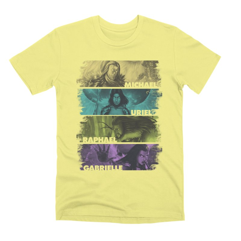 Knights of the Golden Sun: Archangels Men's Premium T-Shirt by Mad Cave Studios's Artist Shop