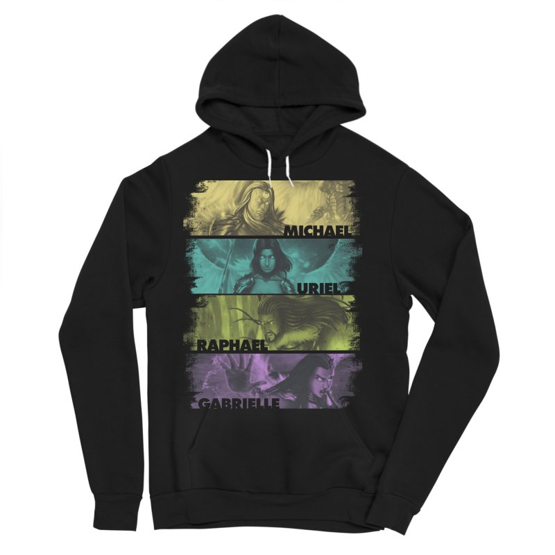 Knights of the Golden Sun: Archangels Men's Sponge Fleece Pullover Hoody by Mad Cave Studios's Artist Shop