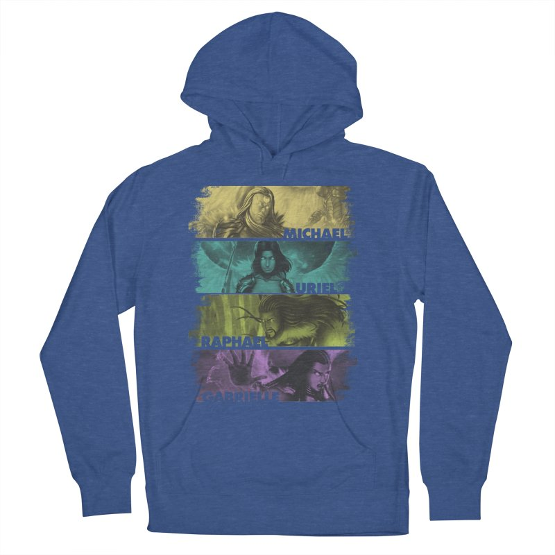 Knights of the Golden Sun: Archangels Men's French Terry Pullover Hoody by Mad Cave Studios's Artist Shop