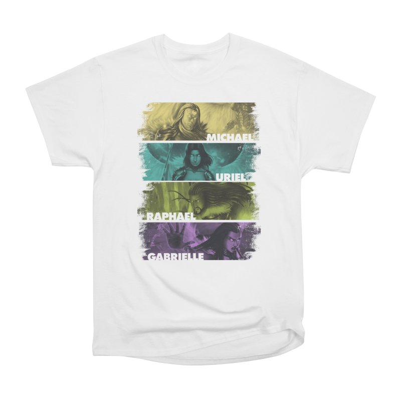 Knights of the Golden Sun: Archangels Men's Heavyweight T-Shirt by Mad Cave Studios's Artist Shop