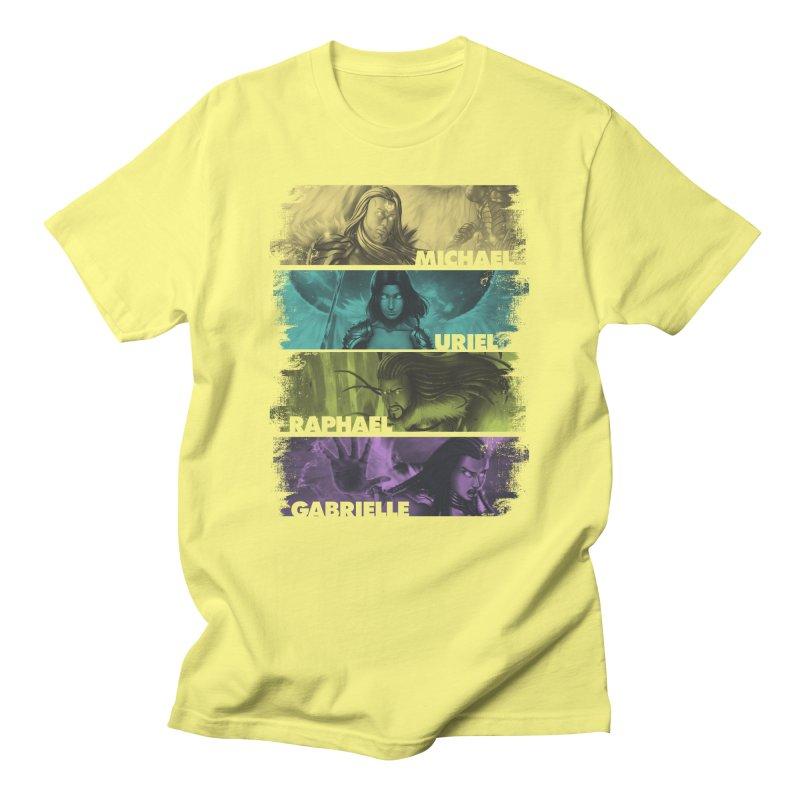 Knights of the Golden Sun: Archangels Men's Regular T-Shirt by Mad Cave Studios's Artist Shop