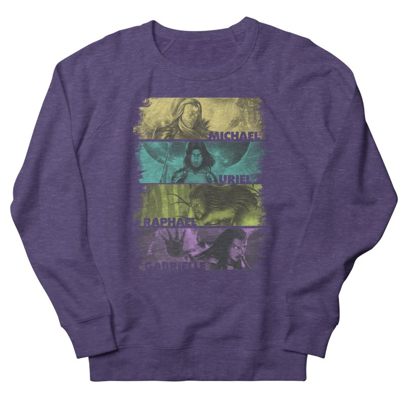 Knights of the Golden Sun: Archangels Women's French Terry Sweatshirt by Mad Cave Studios's Artist Shop