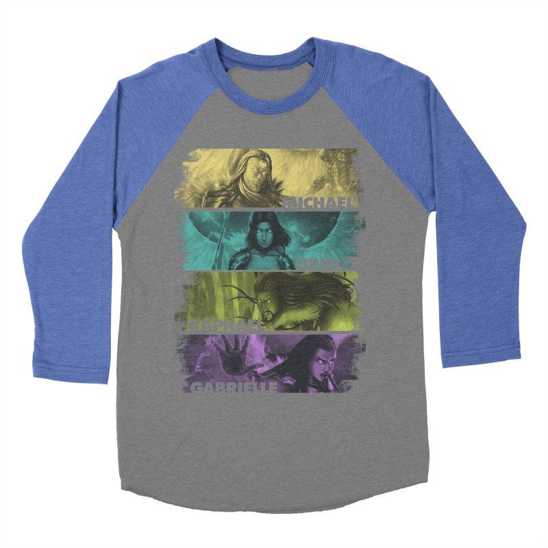 Knights of the Golden Sun: Archangels Women's Baseball Triblend Longsleeve T-Shirt by Mad Cave Studios's Artist Shop