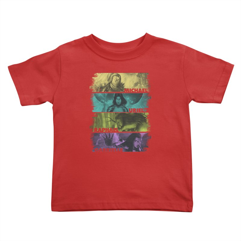 Knights of the Golden Sun: Archangels Kids Toddler T-Shirt by Mad Cave Studios's Artist Shop