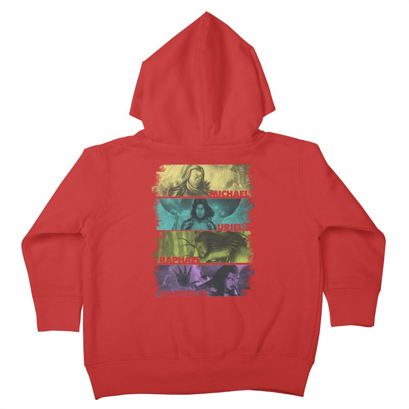 Knights of the Golden Sun: Archangels Kids Toddler Zip-Up Hoody by Mad Cave Studios's Artist Shop