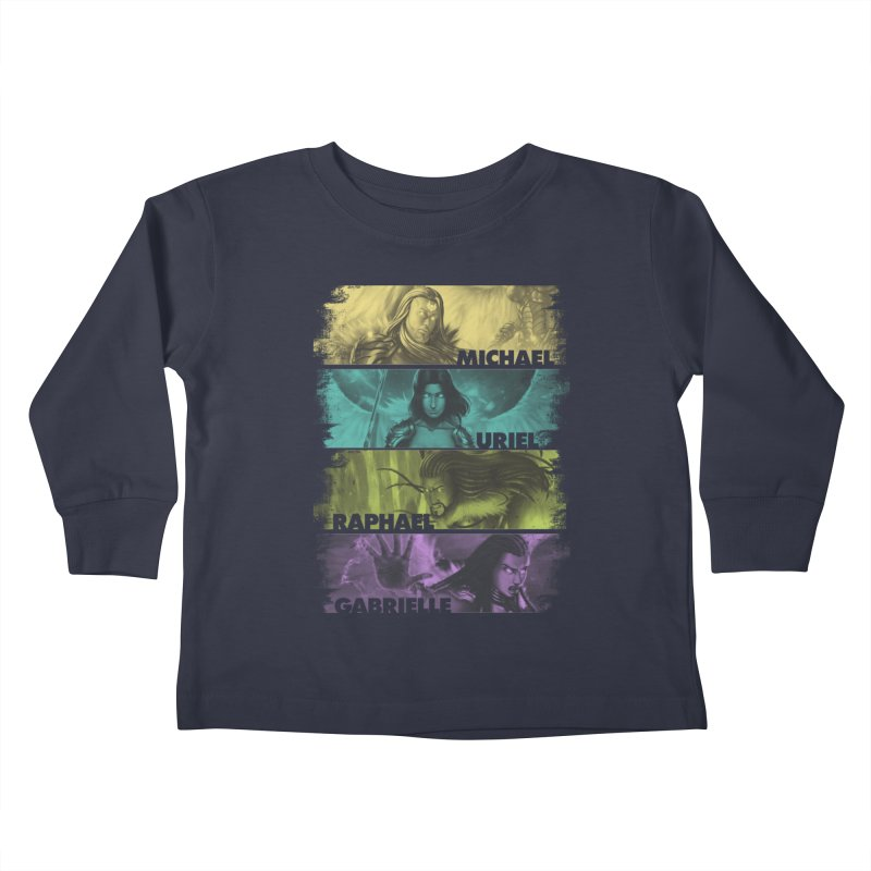 Knights of the Golden Sun: Archangels Kids Toddler Longsleeve T-Shirt by Mad Cave Studios's Artist Shop