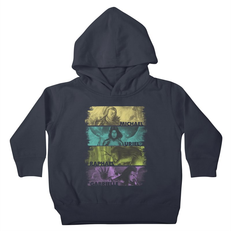 Knights of the Golden Sun: Archangels Kids Toddler Pullover Hoody by Mad Cave Studios's Artist Shop