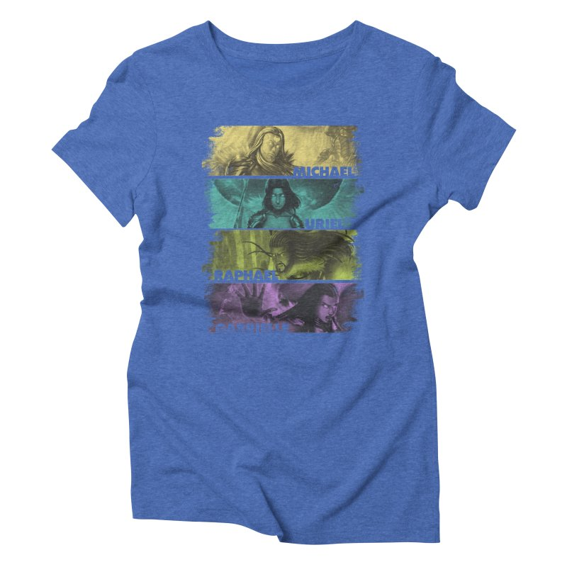 Knights of the Golden Sun: Archangels Women's Triblend T-Shirt by Mad Cave Studios's Artist Shop