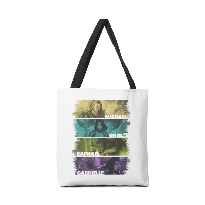 Knights of the Golden Sun: Archangels Accessories Tote Bag Bag by Mad Cave Studios's Artist Shop