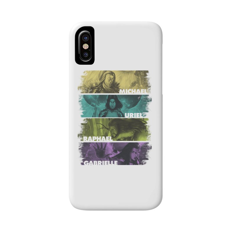 Knights of the Golden Sun: Archangels Accessories Phone Case by Mad Cave Studios's Artist Shop