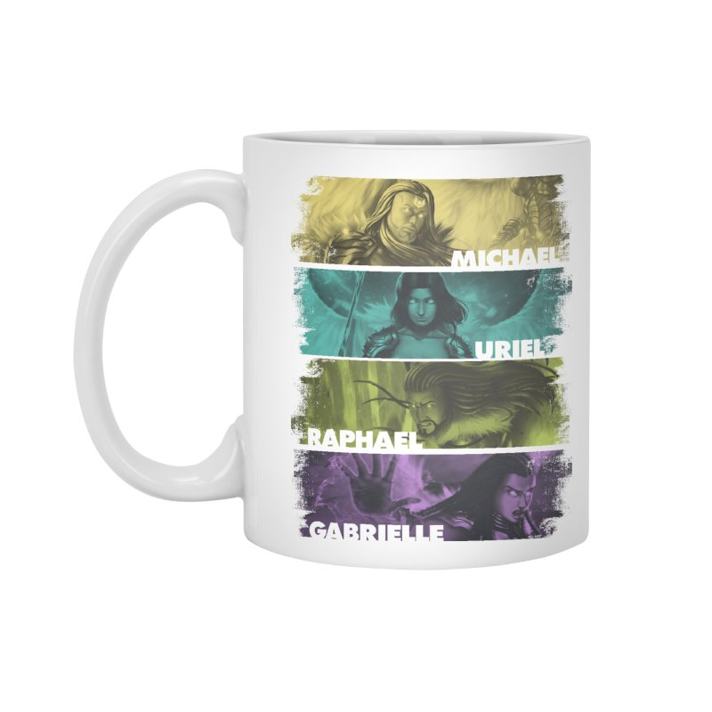 Knights of the Golden Sun: Archangels Accessories Standard Mug by Mad Cave Studios's Artist Shop