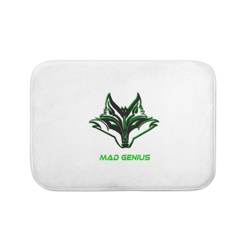 Mad Genius Fox MG Home Bath Mat by The Mad Genius Artist Shop